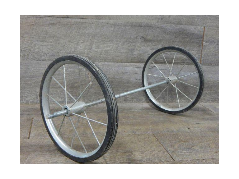 Old Spoked Toy Wheels