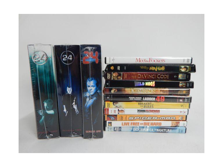 Collection of DVD Movies and Shows