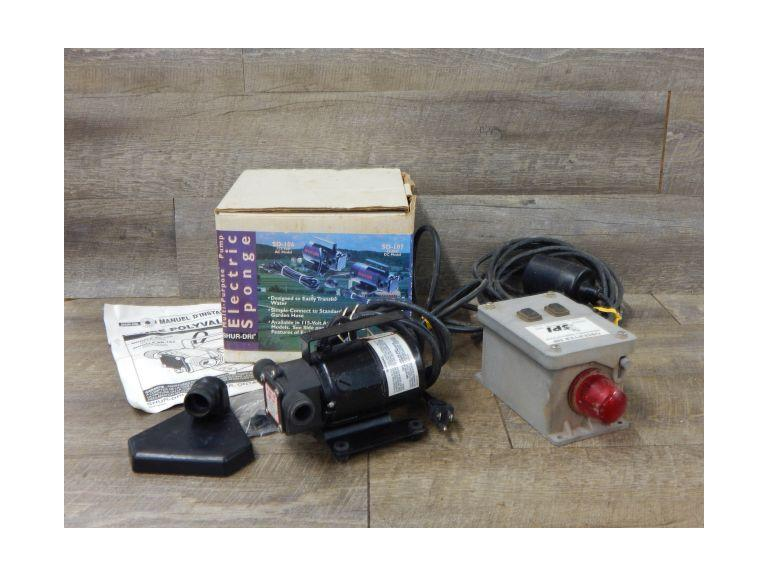 Water Level Alarm and Water Pump