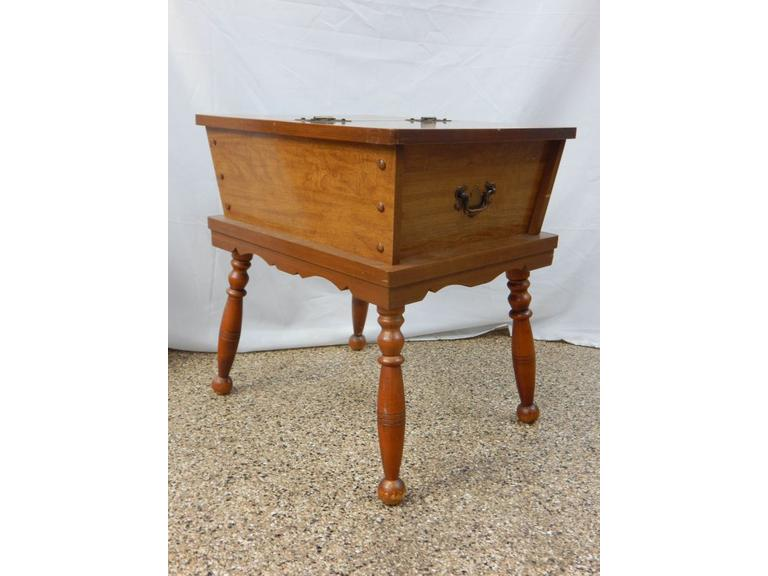 Vintage Top Opening Side Table