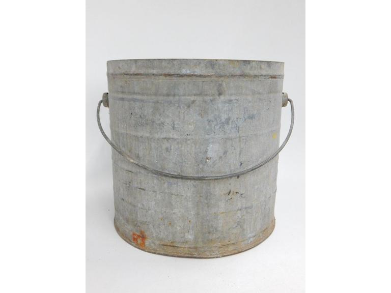 Large Galvanized Steel Bucket