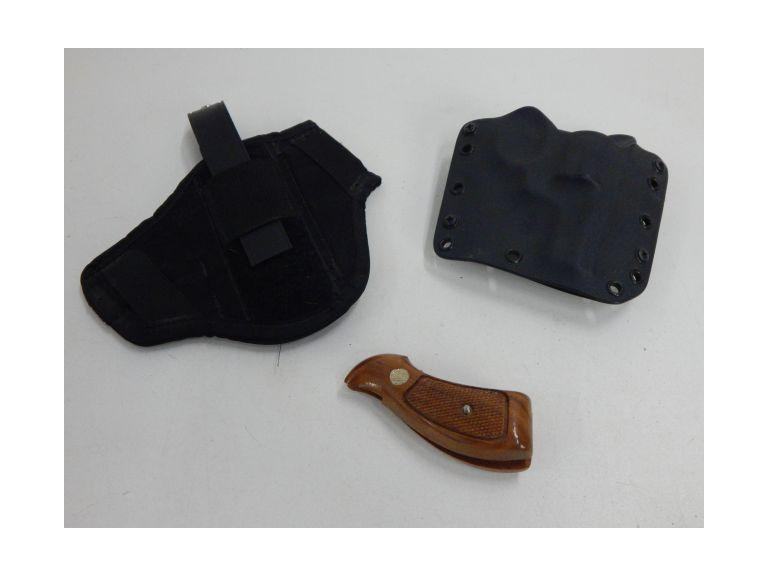 Small Arms Holster and S&W Hand Grip