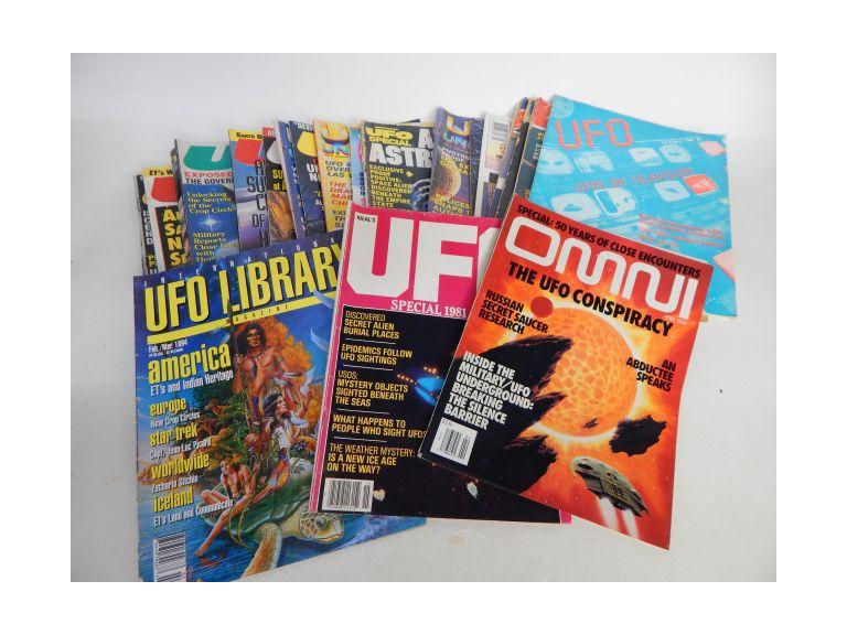 Collection of UFO Magazines
