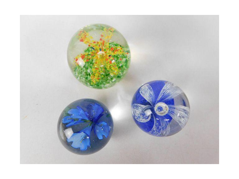 Glass Paperweights #3