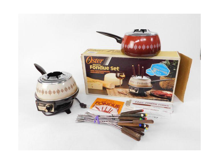 Oster Electric Fondue Set