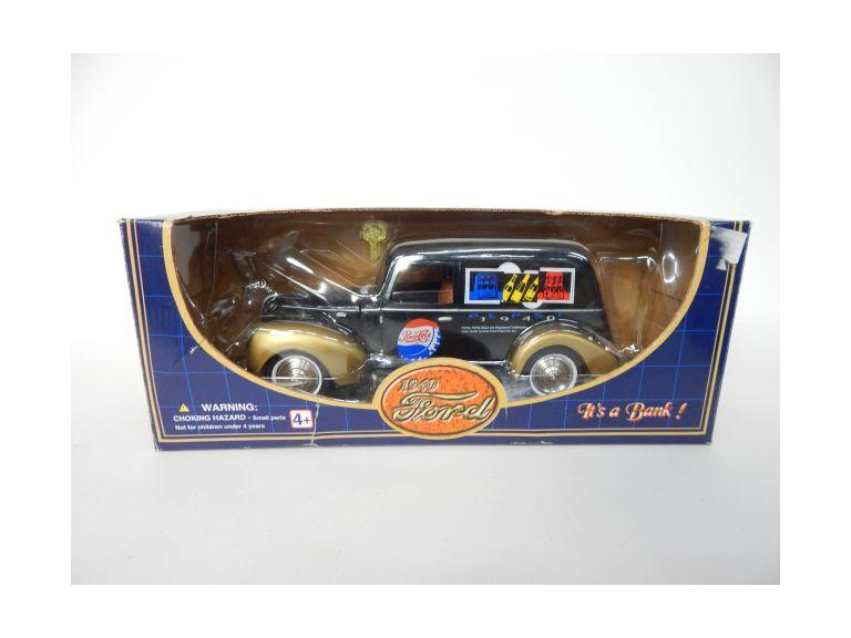 Pepsi Cola Die-Cast Car Bank