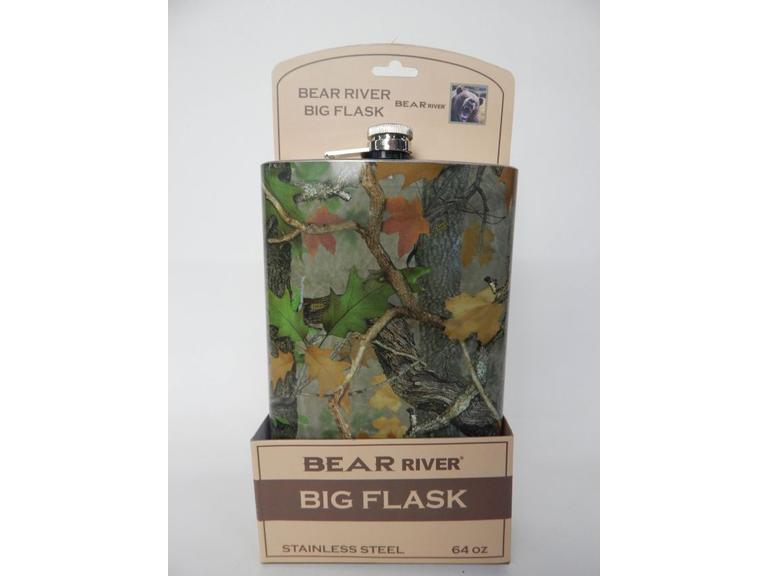 Large Bear River Flask