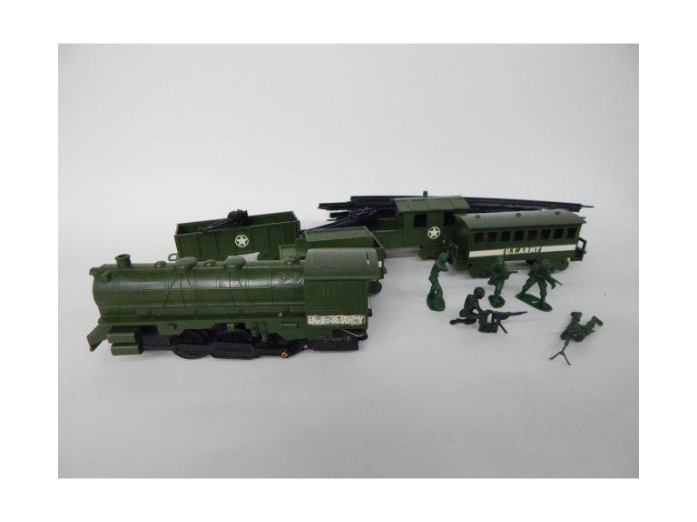 Military Toy Train Set