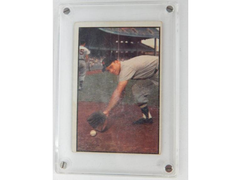 1953 Eddie Yost Baseball Card