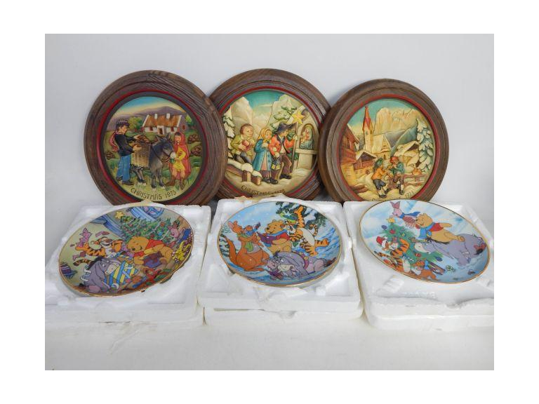 Collection of Christmas Collector Plates