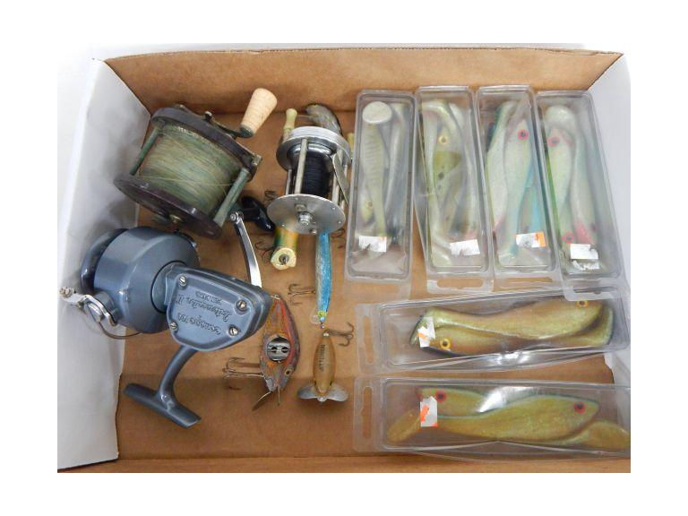 Fishing Reels and Lures