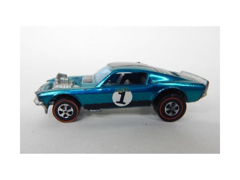 1969 Hot Wheels Red Line Mustang