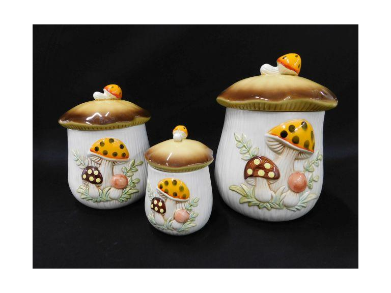 Sears, Roebuck & Co. Mushroom Set dated 1978