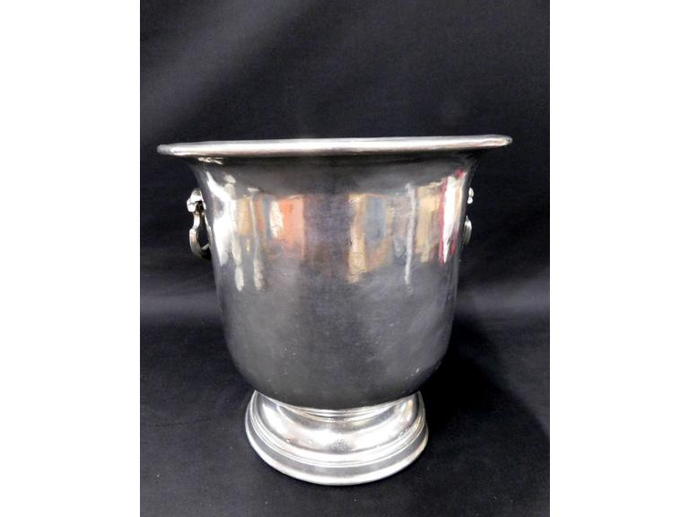 Vintage Italian Pewter Champagne Ice Bucket