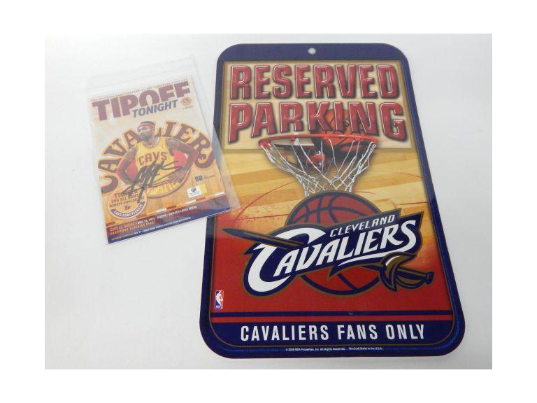 Cavaliers Collectible with Mo Williams Autograph