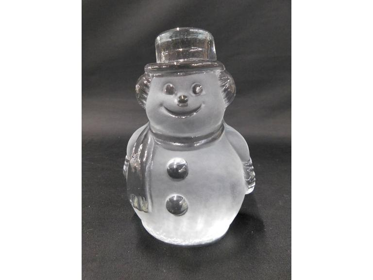 Viking Glass Snowman