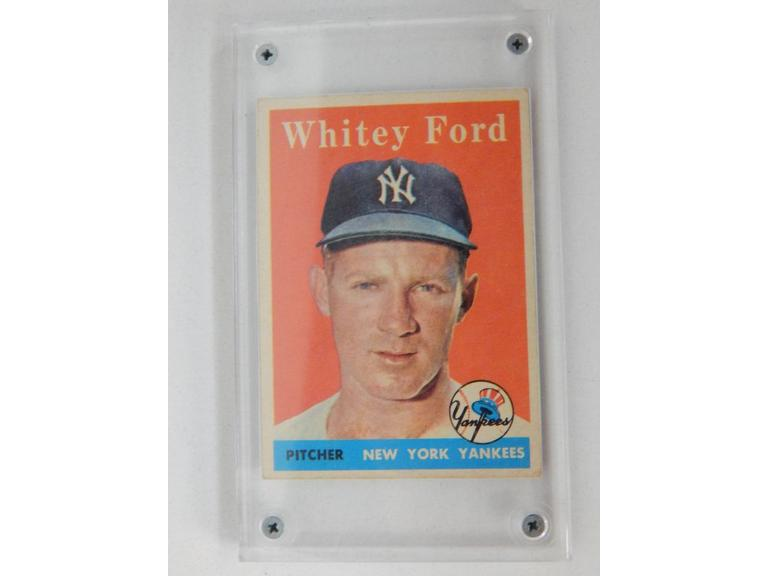 1958 Whitey Ford Baseball Card