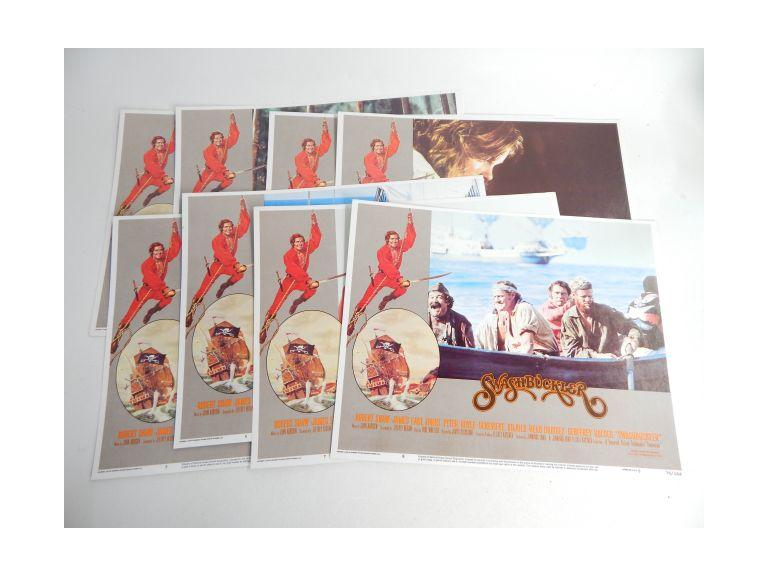 Complete Set of Swashbuckler Movie Lobby Cards