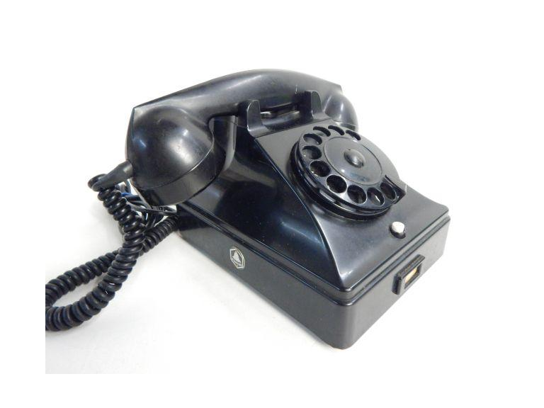 Vintage Holland Made Rotary Telephone