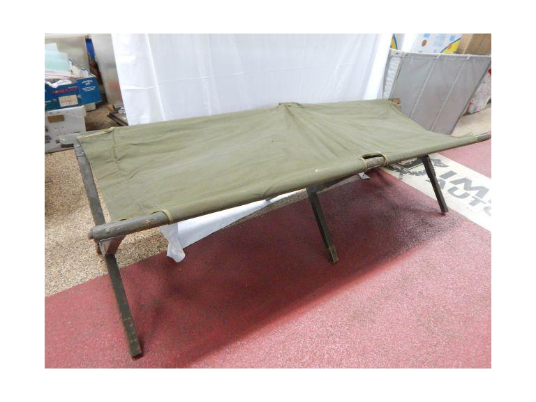 Vintage Folding Army Cot