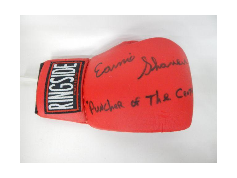 Ernie Shavers Autgraphed Boxing Glove