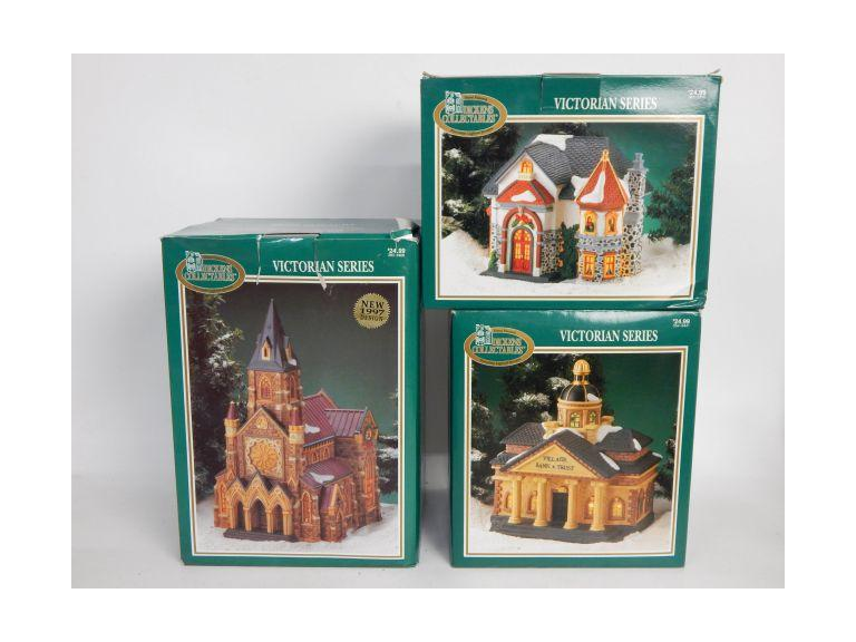 Dickens Victorian Series Porcelain Houses
