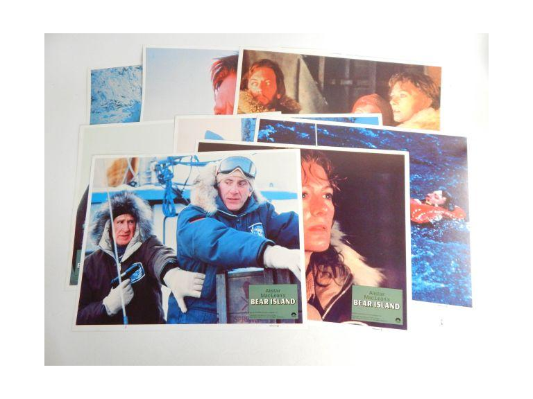 Complete Set of Bear Island Movie Lobby Cards