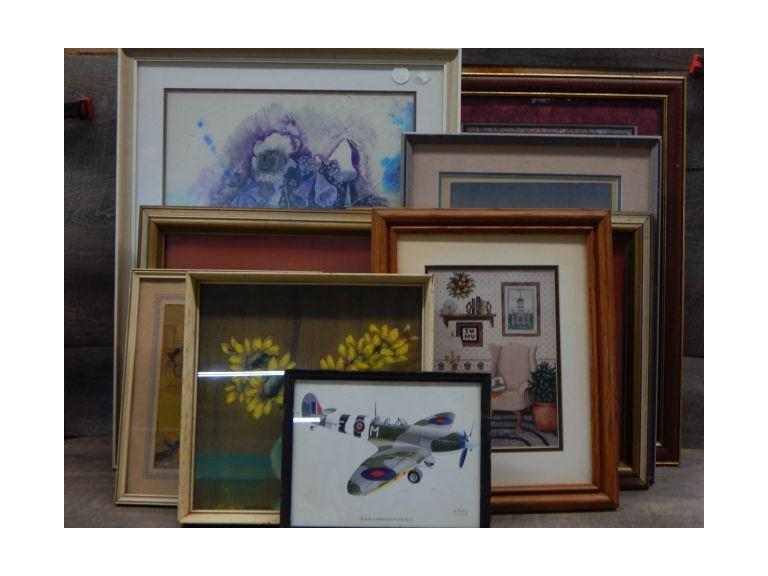 Collection of Framed Prints