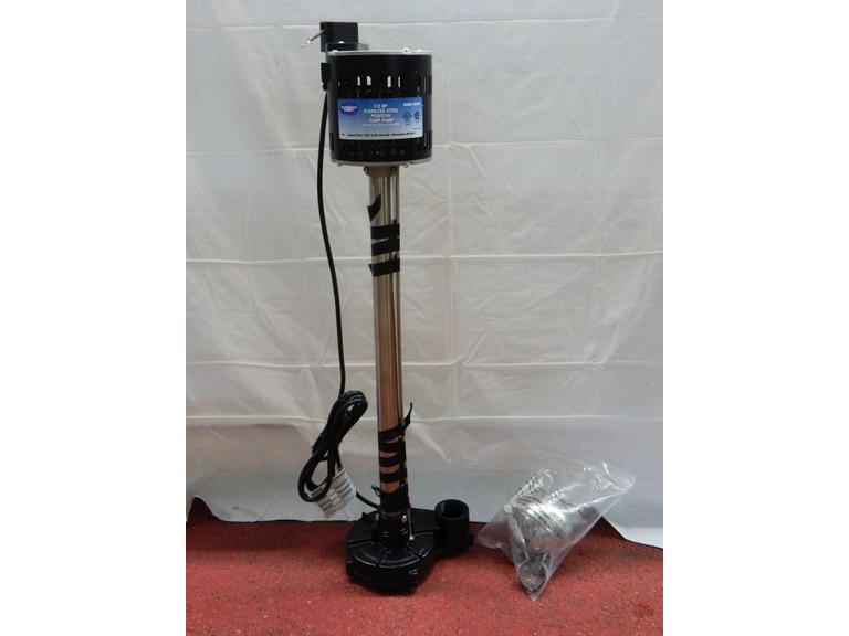 New Superior Pump Pedestal Sump Pump