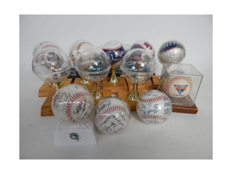 Collectible Baseball & Stands