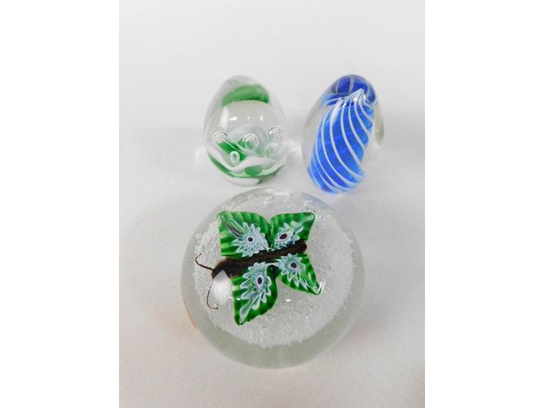 Glass Paperweights #2