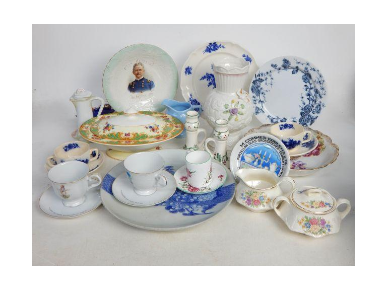 Collection of Vintage and Antique Porcelain Pieces