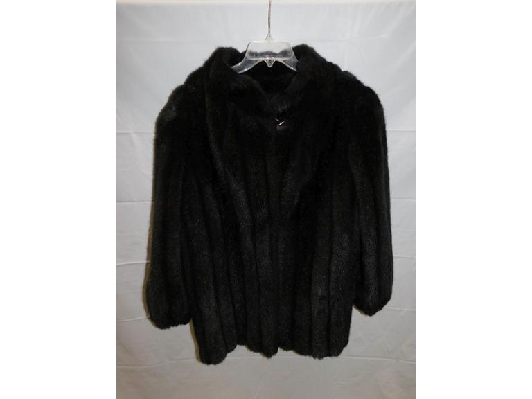 Vintage Fur Medium Length Coat