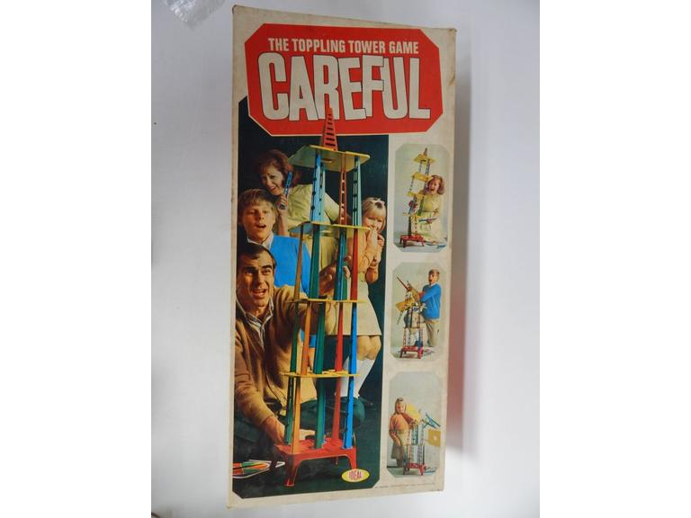 1967 Ideal Careful Toppling Game