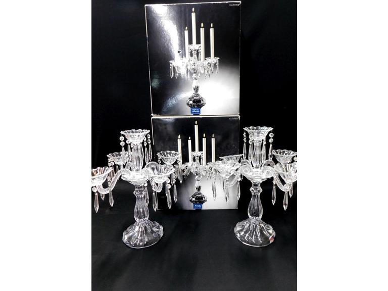 Royal Limited Crystal Candeelabras