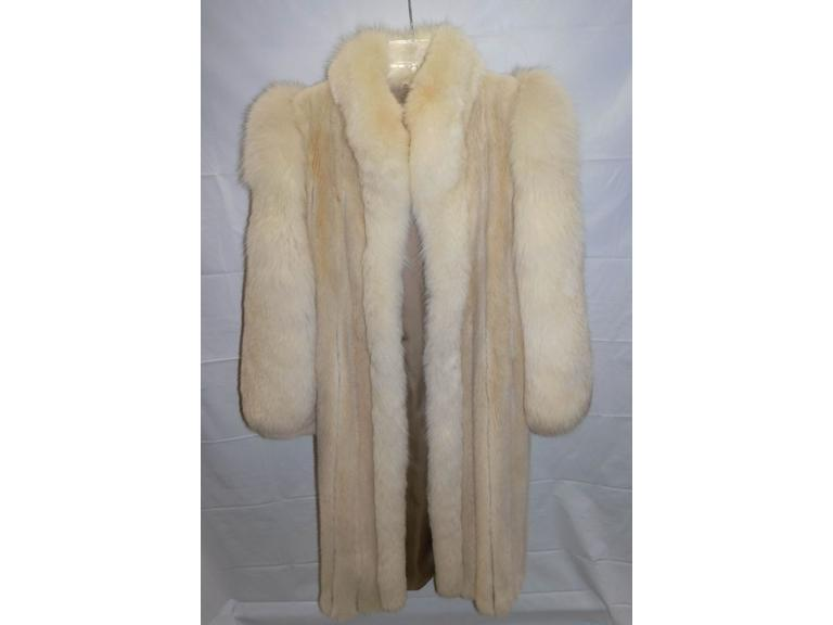 Vintage Full Length Mink Coat
