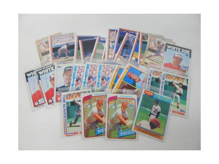 Collection of Tom Seaver Baseball Cards