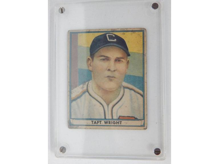 1941 Taft Wright Baseball Card