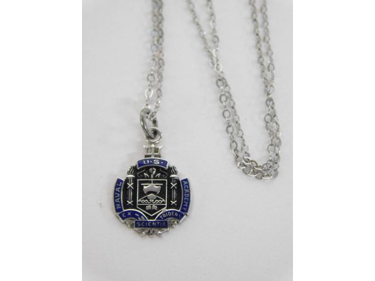 US Naval Acadamy Sterling Silver Pendant