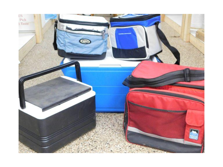 Collection of Various Coolers