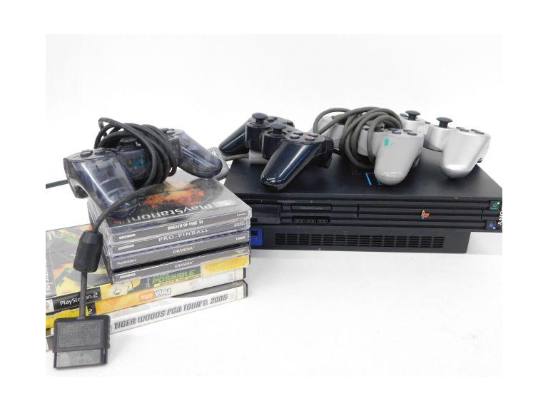Sony PS2 Console, Controllers and Games!