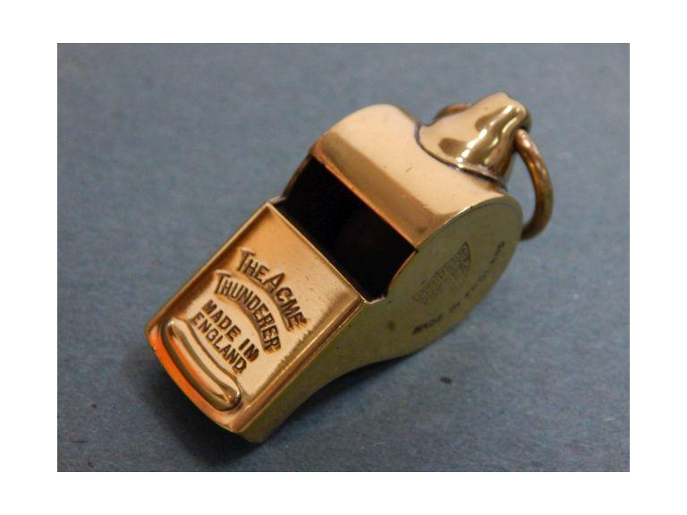 The Acme Thunder Brass Whistle