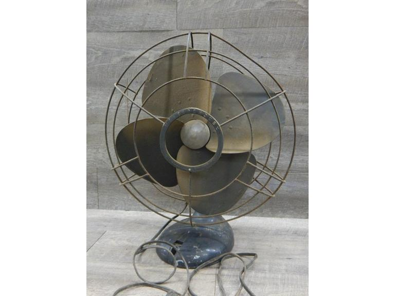 Tall Westinghouse Electric Table Fan