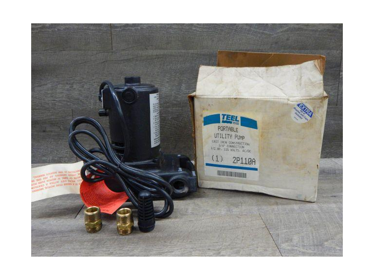 New Teel Portable Utility Water Pump