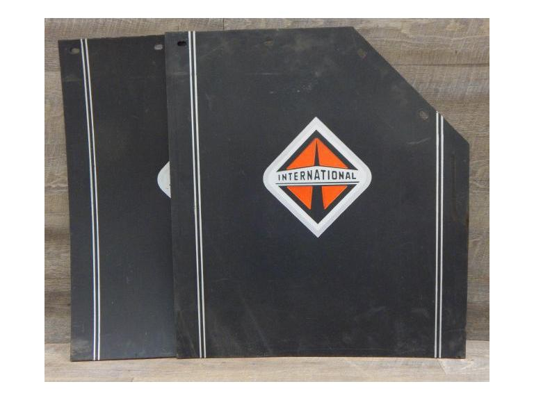 Large International Truck Mud Flaps