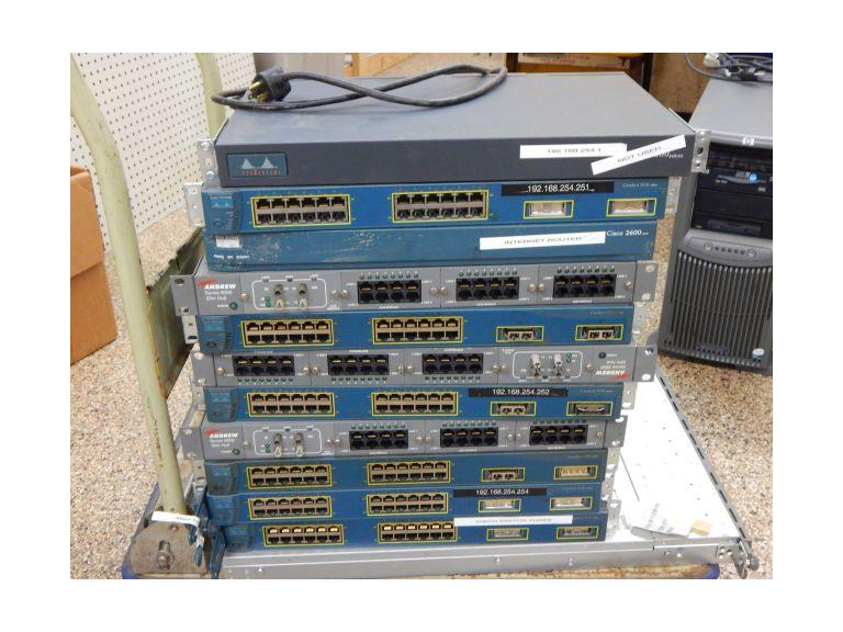 Collection of Heavy Duty Computer Ethernet, Server and Router Boards