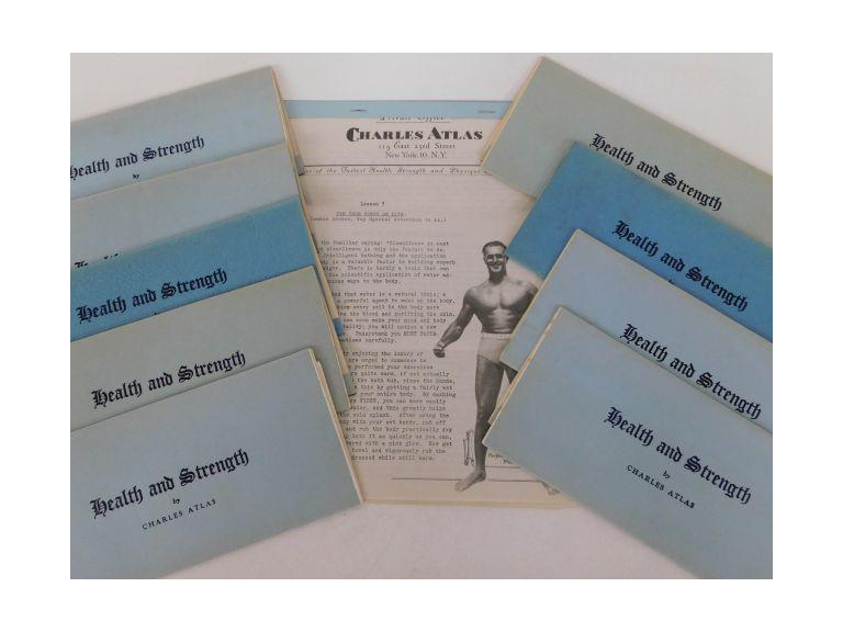 Vintage Charles Atlas Health & Strength Lessons