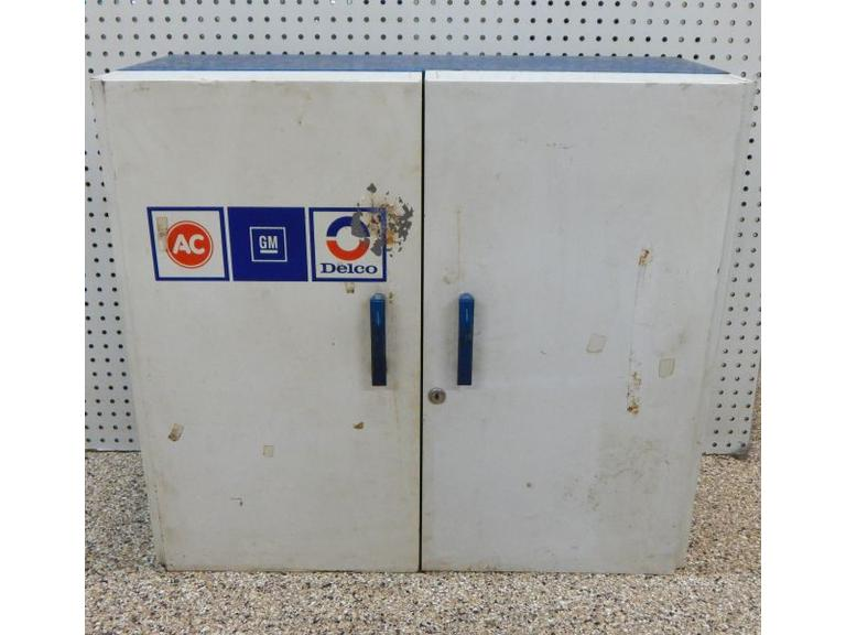 Large AC Delco Parts Store Cabinet