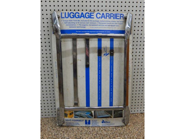 Vintage Luggage Carrier Advertisement