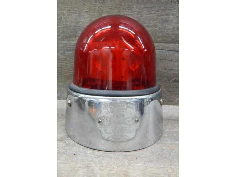 Beacon Ray Glass Dome 12 volt Emergency Light